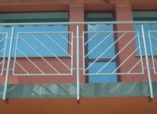 balustrada skośna