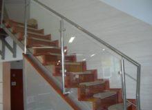 balustrada ze szkłem