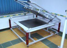 Stanowisko dobadania dywaników izolacyjnych